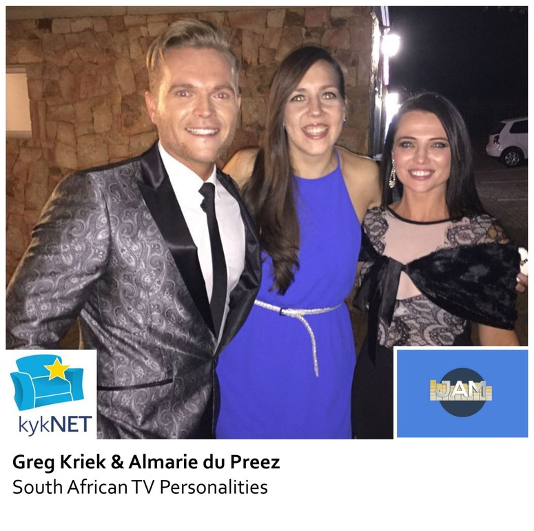 Greg Kriek, Almarie du Preez and Mareli Scott
