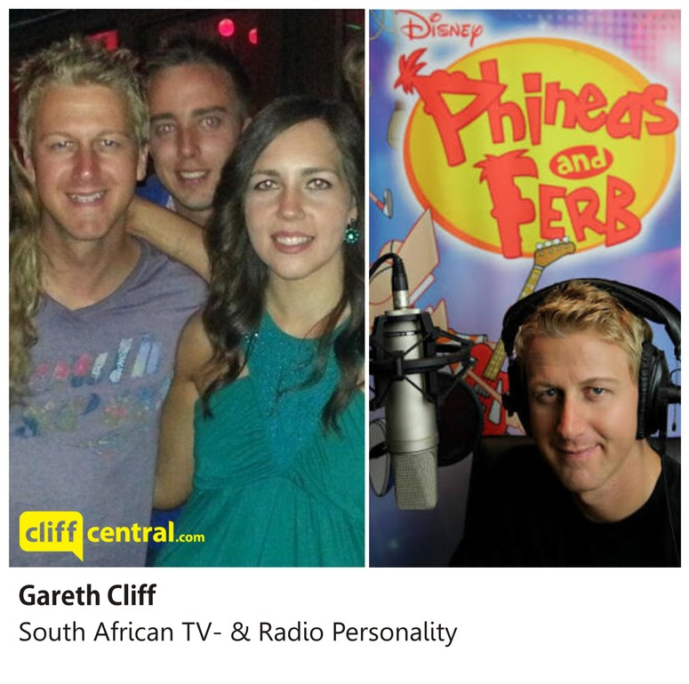 Gareth Cliff and Mareli Scott