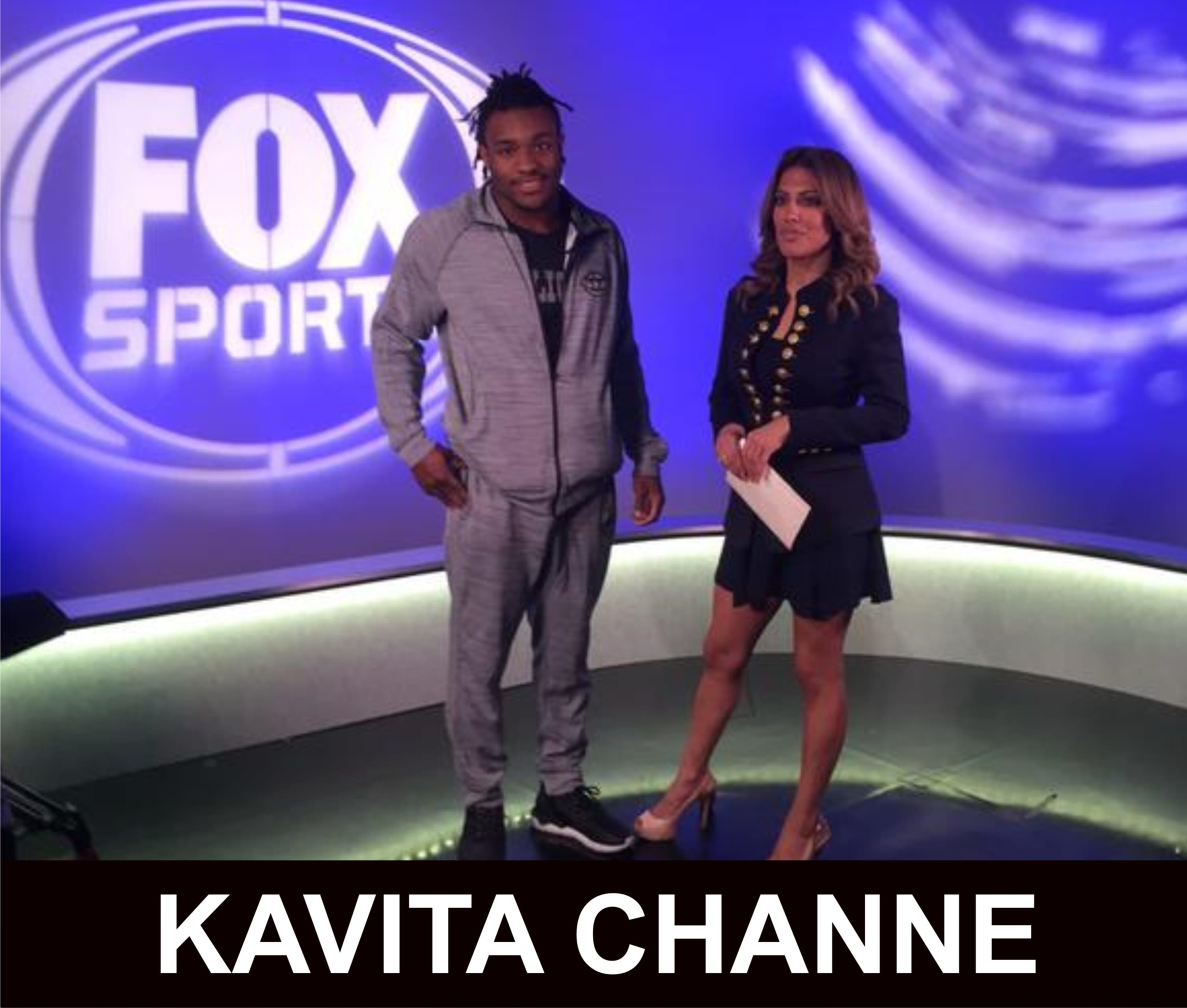 KAVITA CHANNE - US FOX SPORTS- , VIP TV- AND THE CHAT PRESENTER