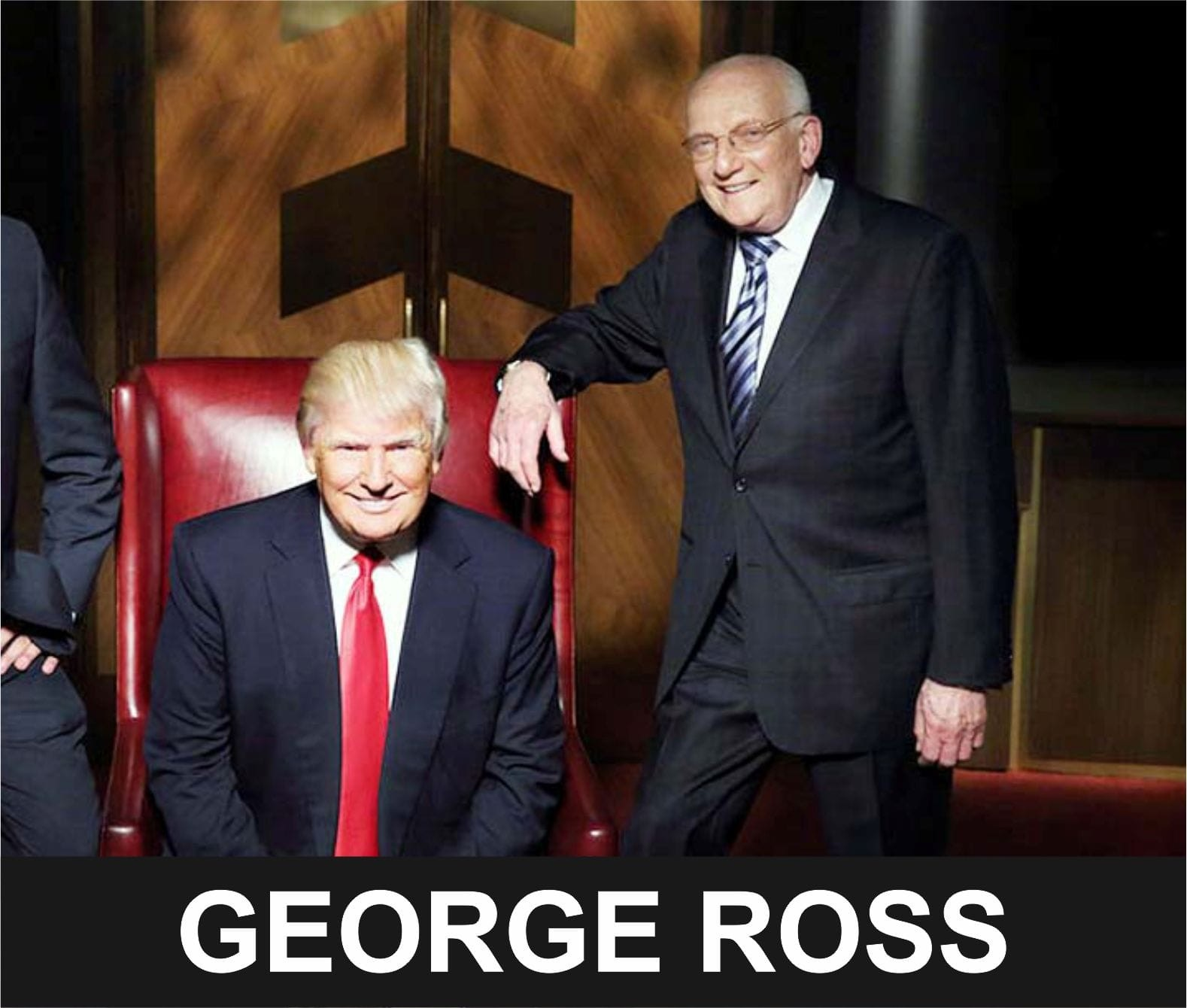 George Ross - Best selling author, Former right-hand man of Donald Trump and The Apprentice Judge