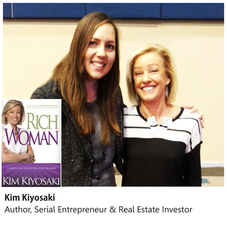 Kim Kiyosaki and Mareli Scott