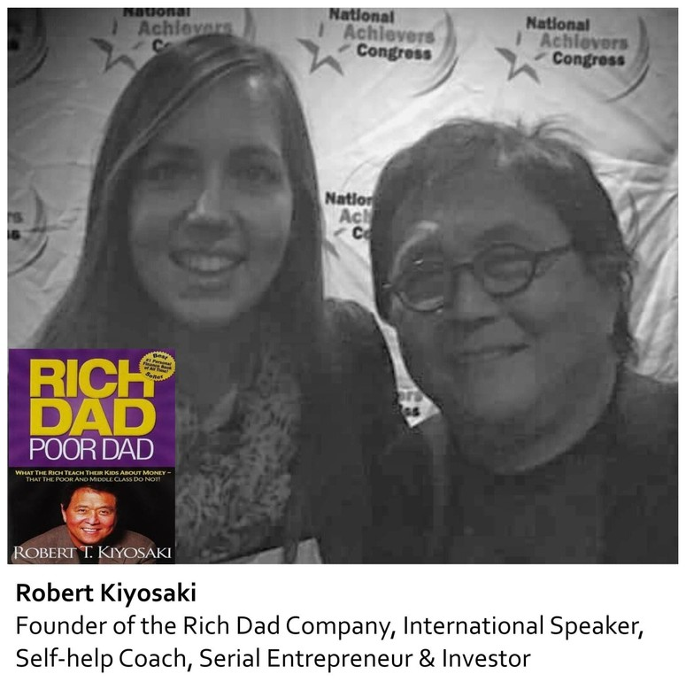 Robert Kiyosaki and Mareli Scott