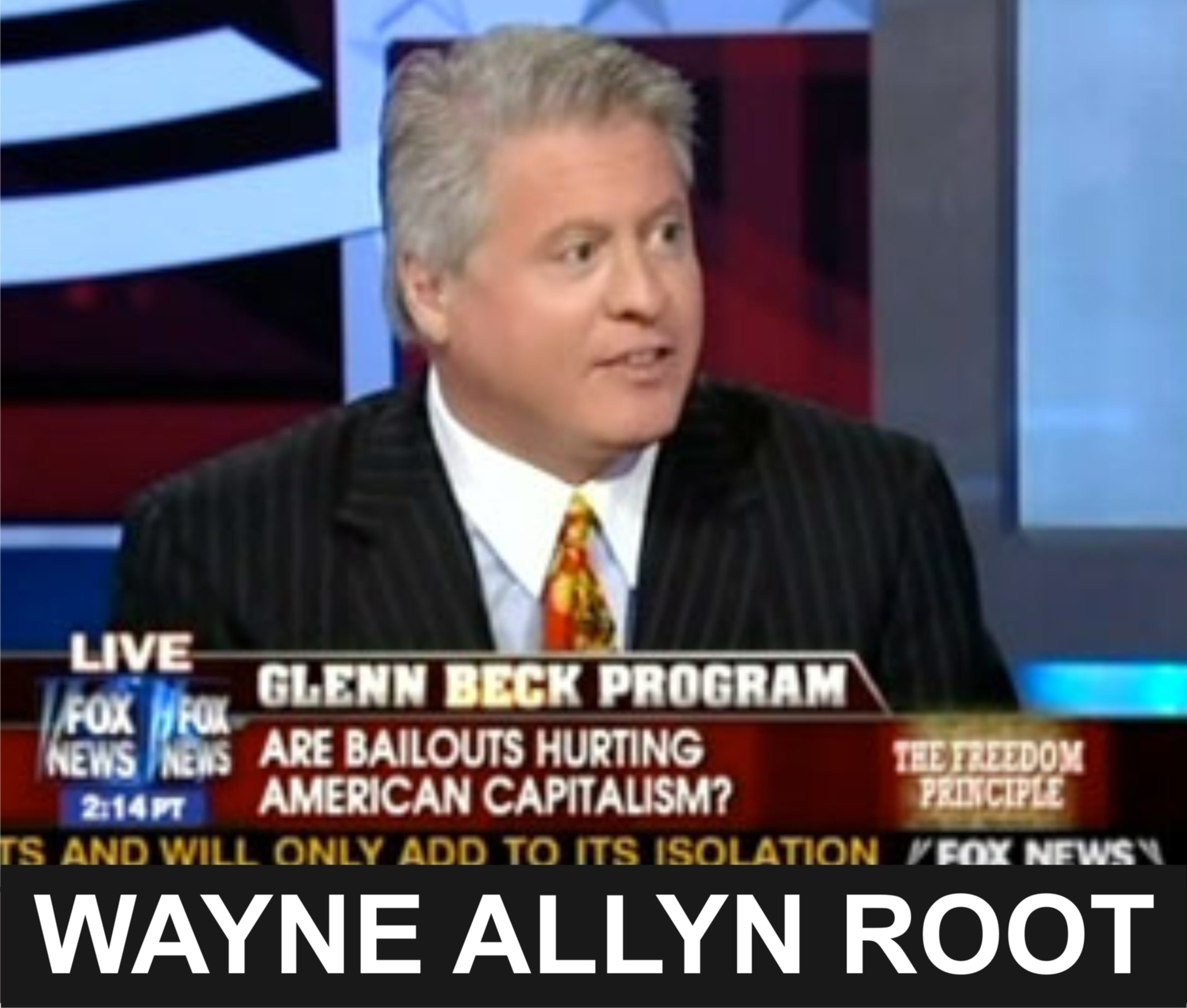 Wayne Allyn Root - US Political figure and vice-presidential nominee