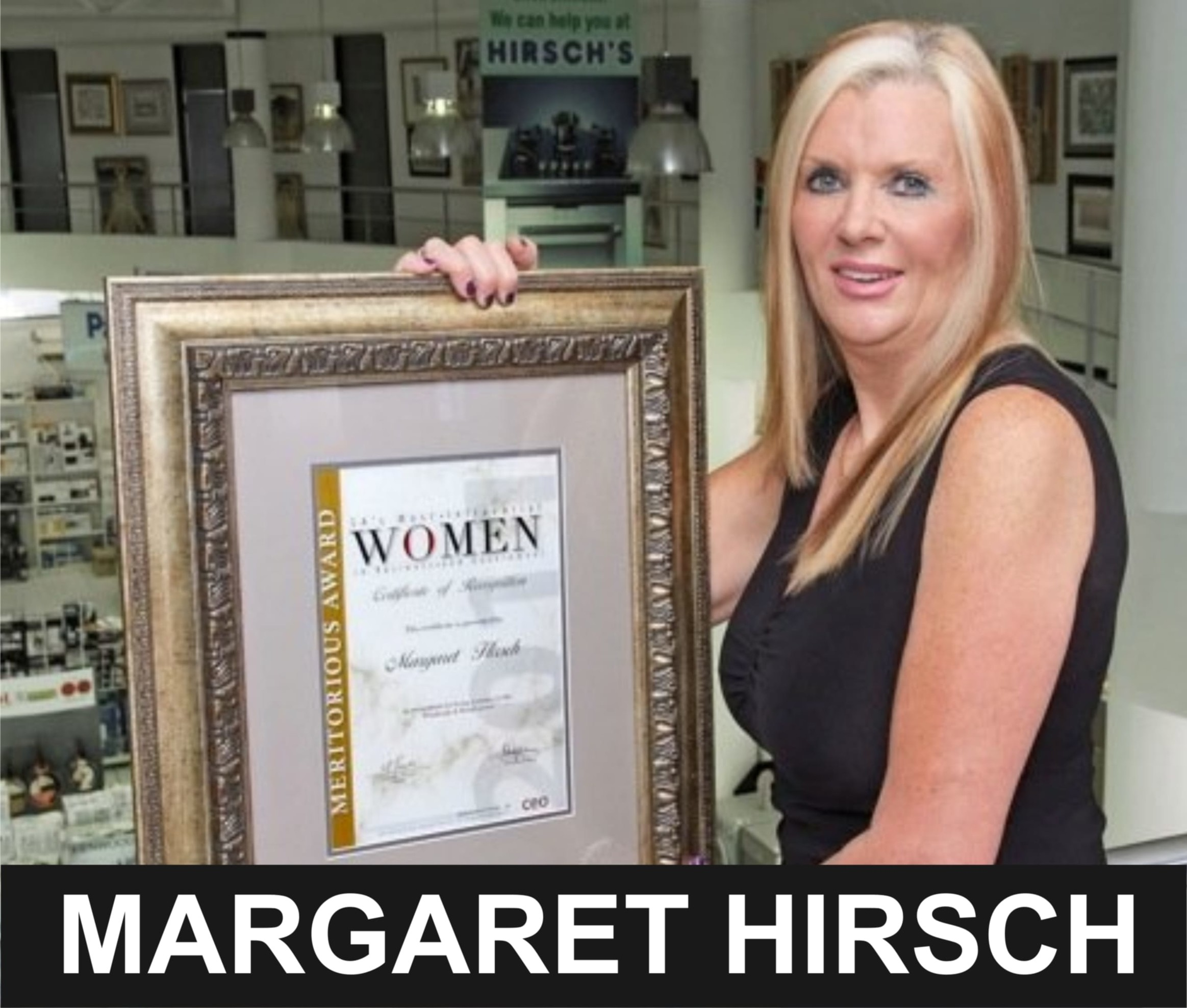 Margaret Hirsch - SA Billionaire Tycoon and COO of Hirsch's Home Store