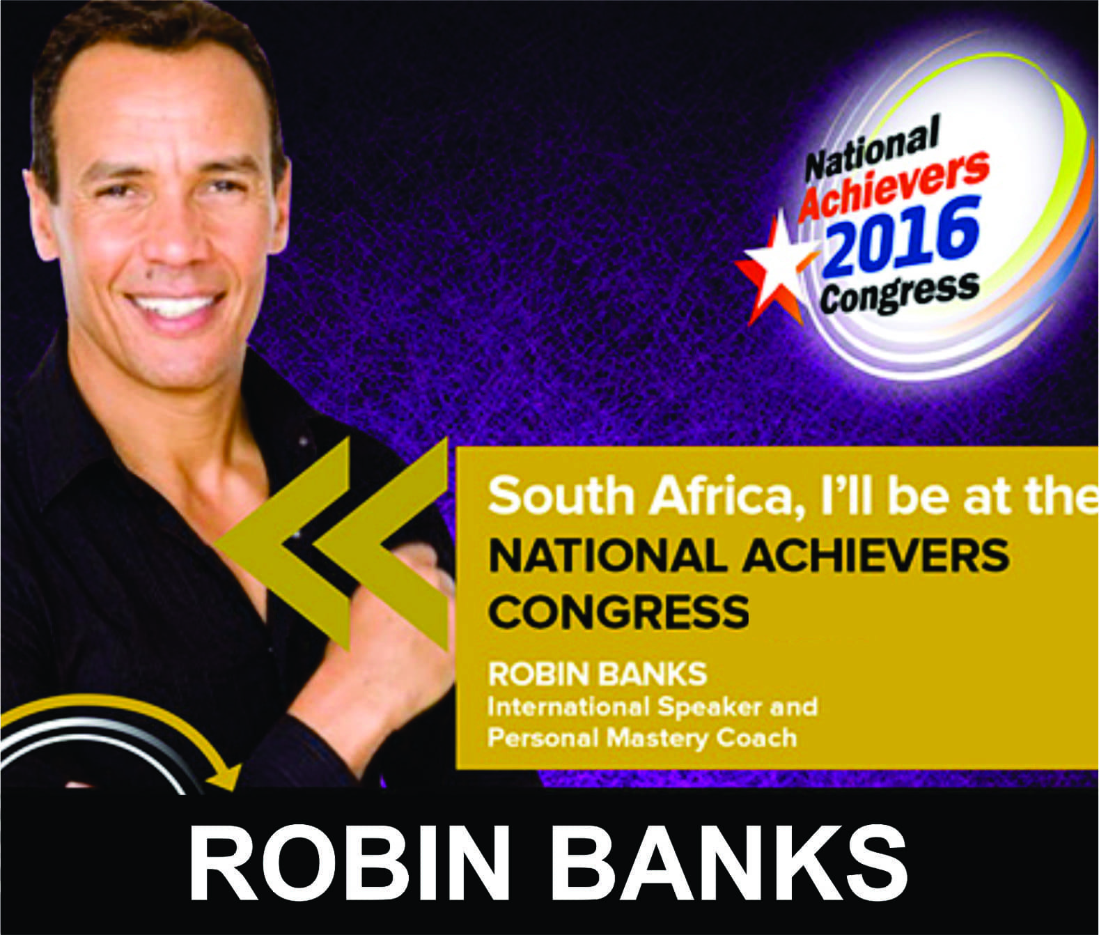 Robin Banks - Personal Mastery Coach and Speaker