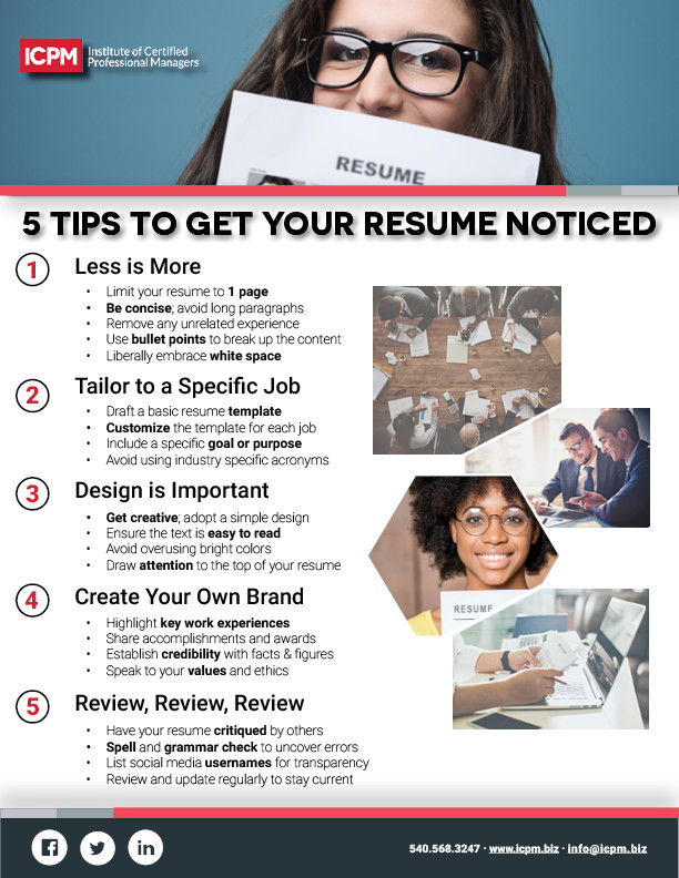 your resume can be the difference between getting an interview or not download this infographic to help your resume stand out above the rest - How To Make Your Resume Stand Out Get Your Resume Noticed