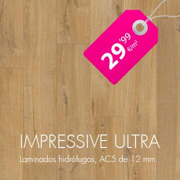 Suelo laminado QuickStep Impressive Ultra en Pavimentos Arquiservi al mejor precio