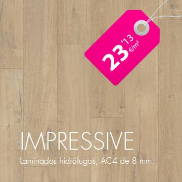 Suelos laminados QuickStep Impressive en Pavimentos Arquiservi al mejor precio