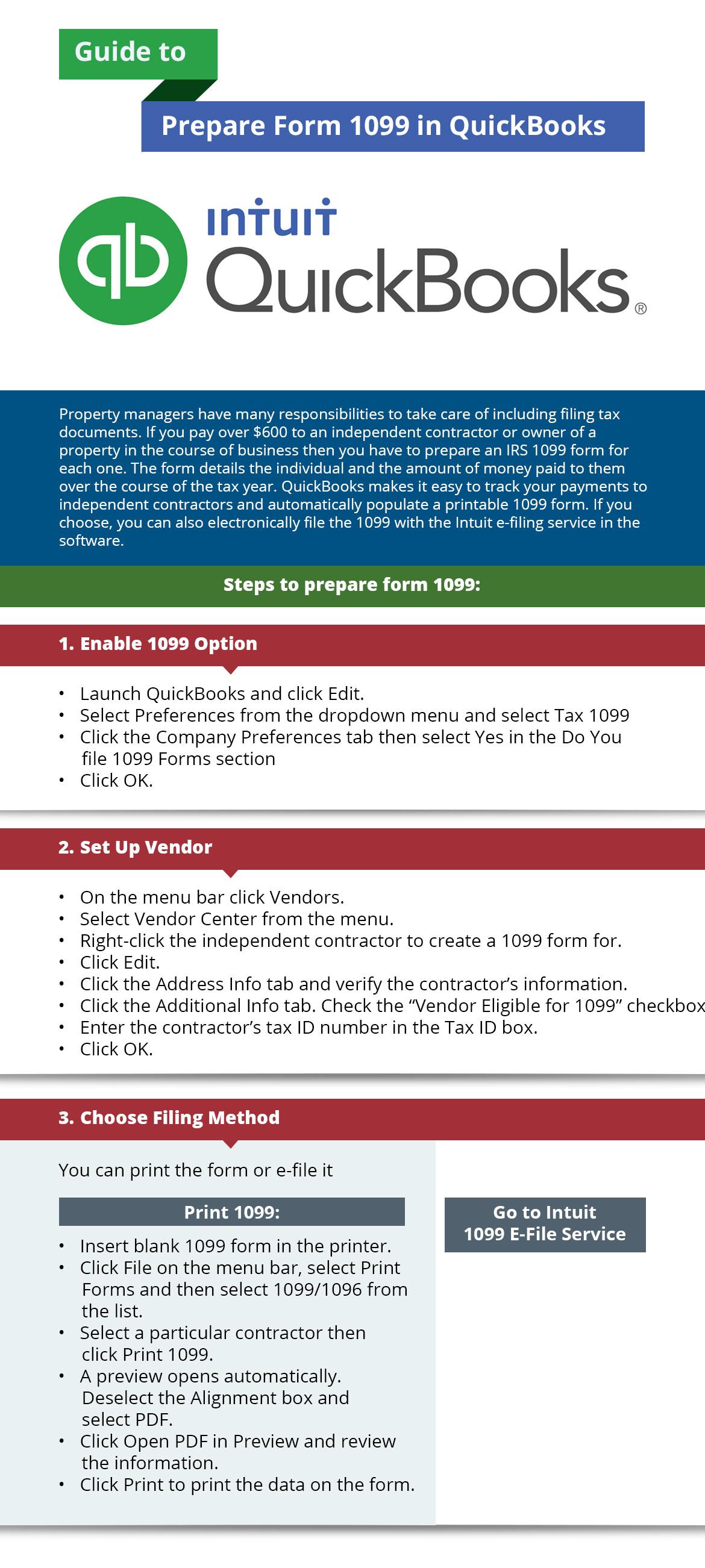 SmartFin Services   Guide to Prepare Form 1099 in QuickBooks