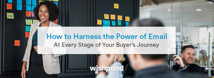 How to Harness the Power of Email at Every Stage of Your Buyer's Journey