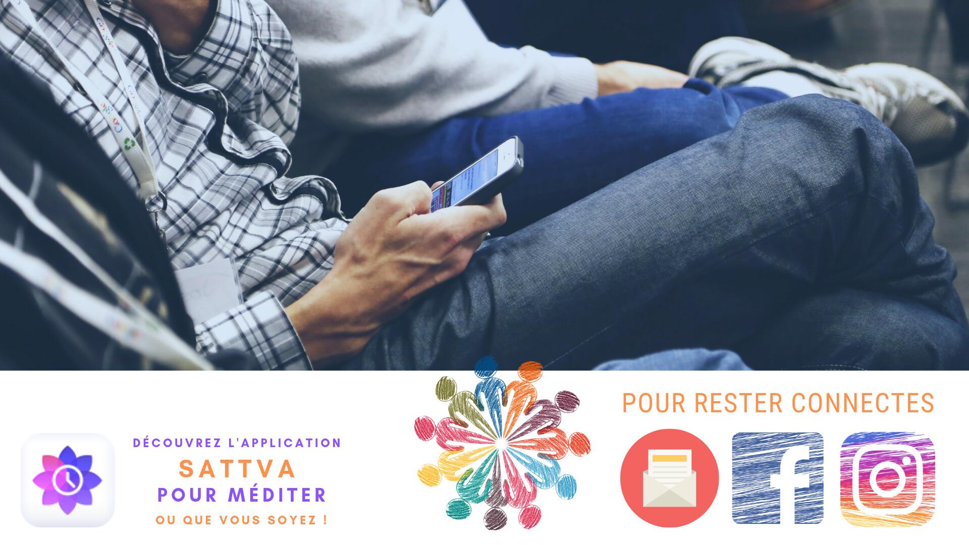 Restons connectés, Facebook, Instagram, Newsletter, : recevez les infos pour vous programmer des moments de détente sur mesure