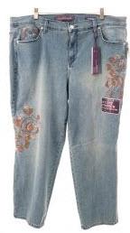 Gloria Vanderbilt Plus Jeans