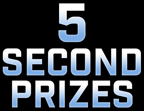 5 Second Prizes