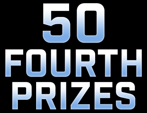 50 Fourth Prizes