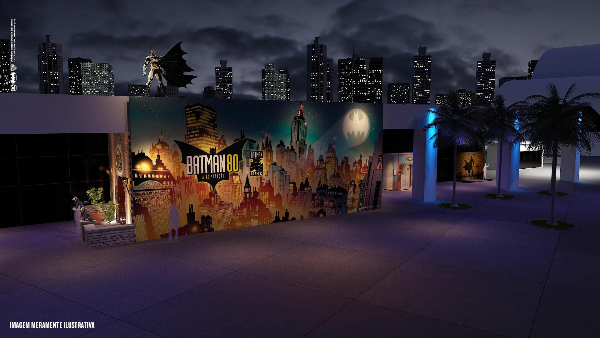 Exposição celebra os 80 anos do Batman 4