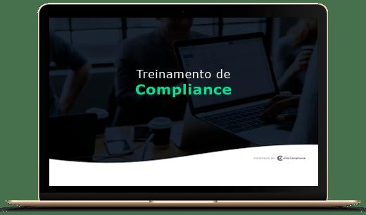 mockup treinamento de Compliance