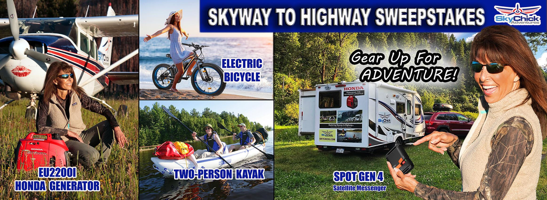 Honda + SkyChick Adventures Skyway to Highway Sweepstakes