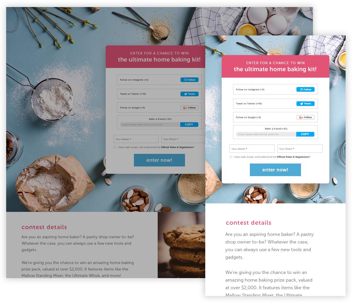wishpond responsive bonus entry contest