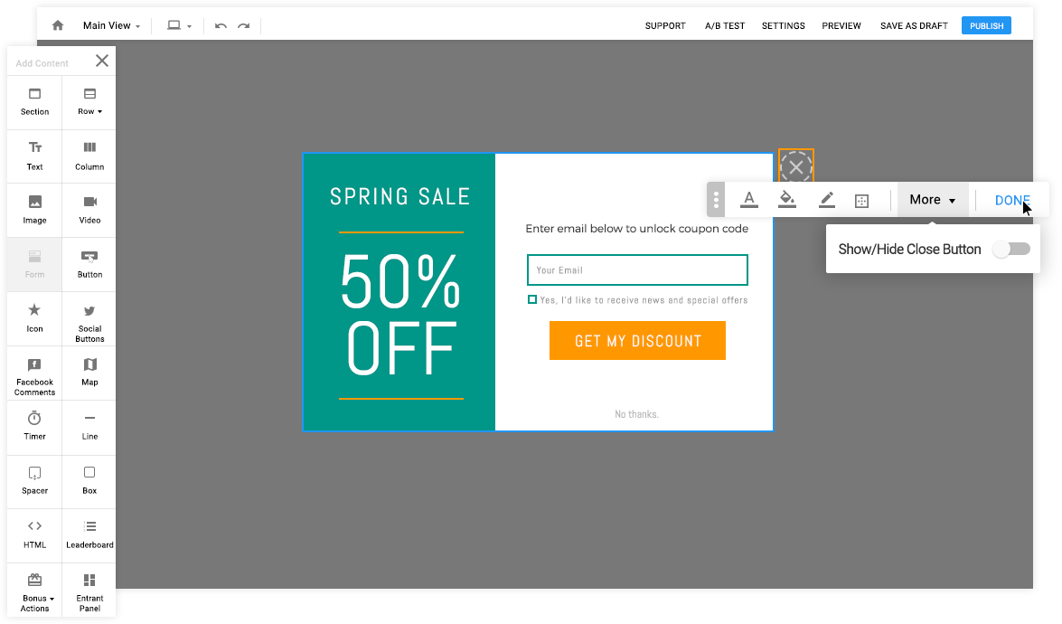 Easy Website Popup Tool Create Beautiful Popups In Minutes Pop Up Easily A