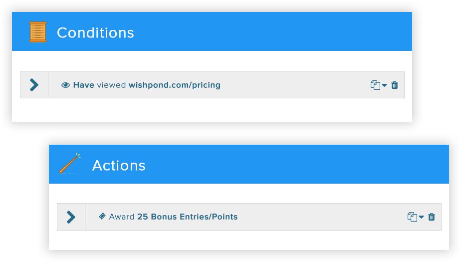 award points