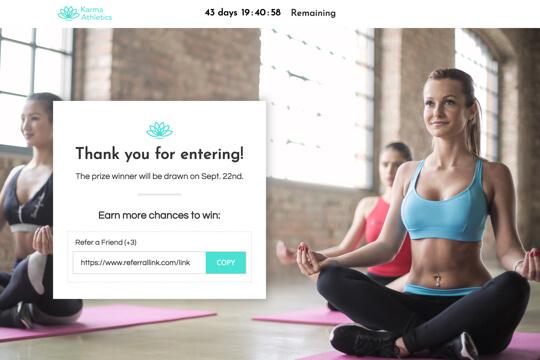 swedish massage thank you page