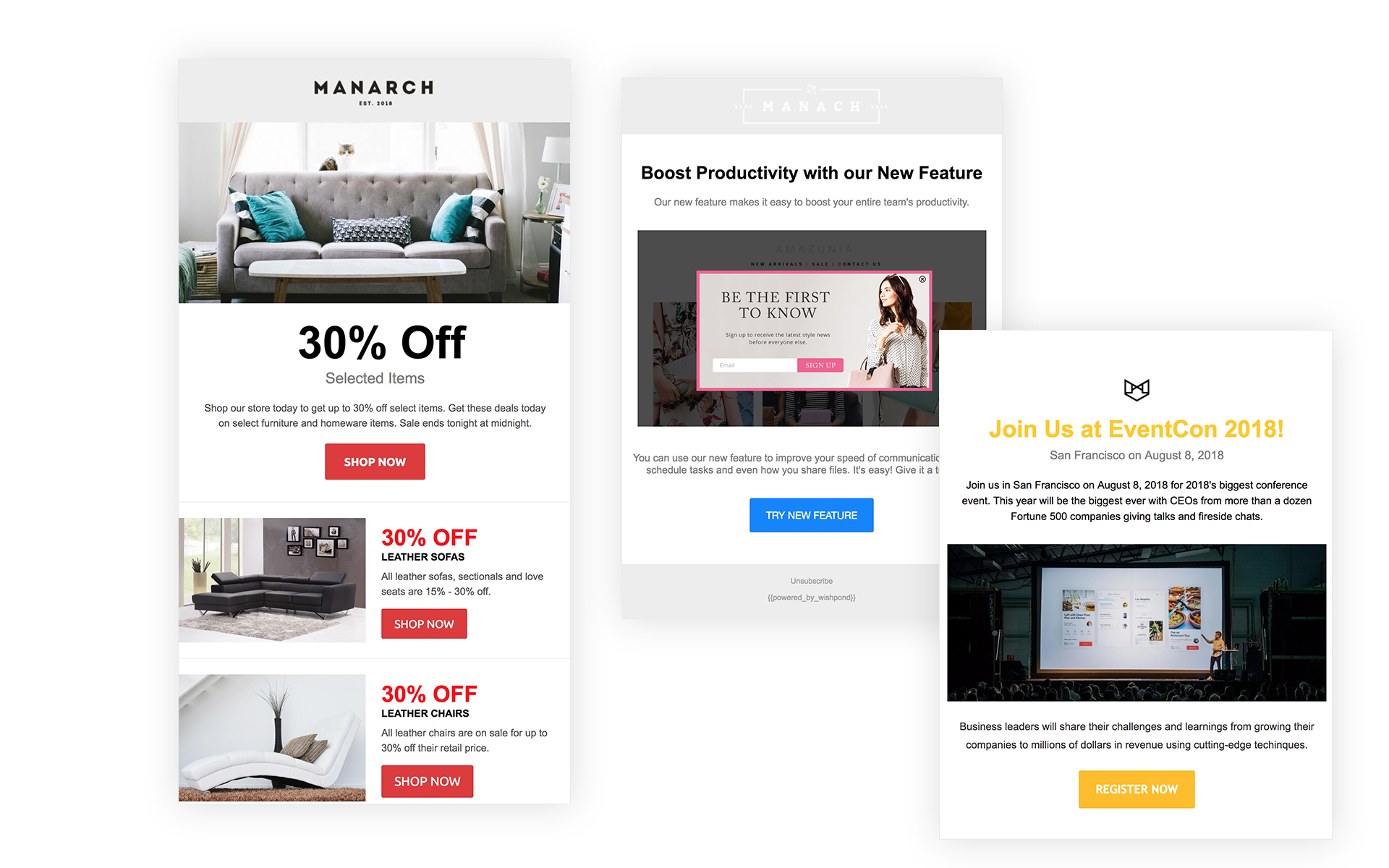 email newsletter templates editor