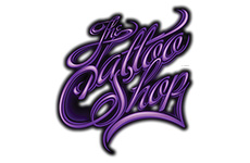 the tattoo shop logo